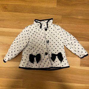 5 for $20!! Adorable 18 Month Polka Dot Coat!